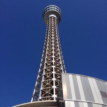 横浜のマリンタワー