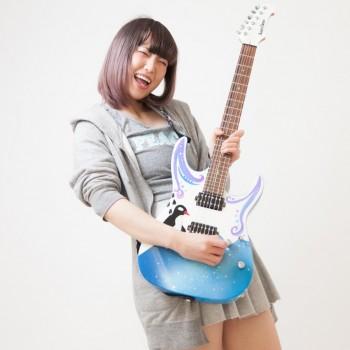 ガールズバンドのギター