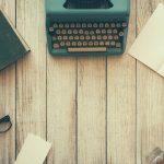 タイプライターと木